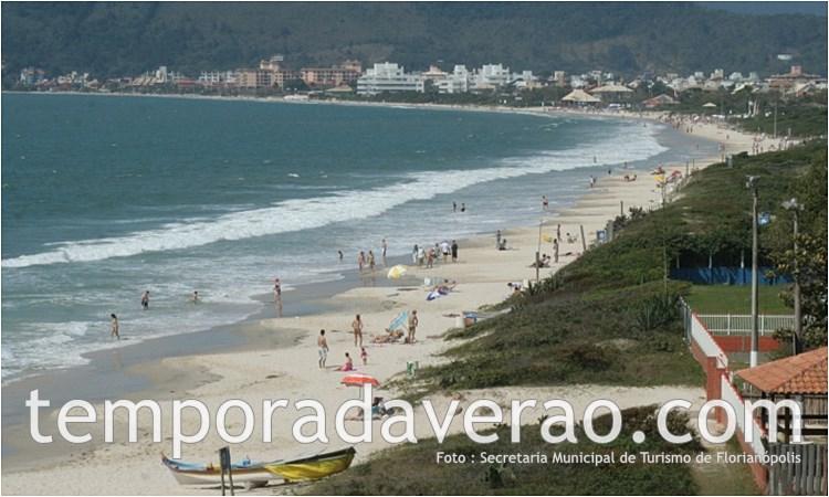 Praia de Jurerê em Florianópolis - reveillonnobrasil.com