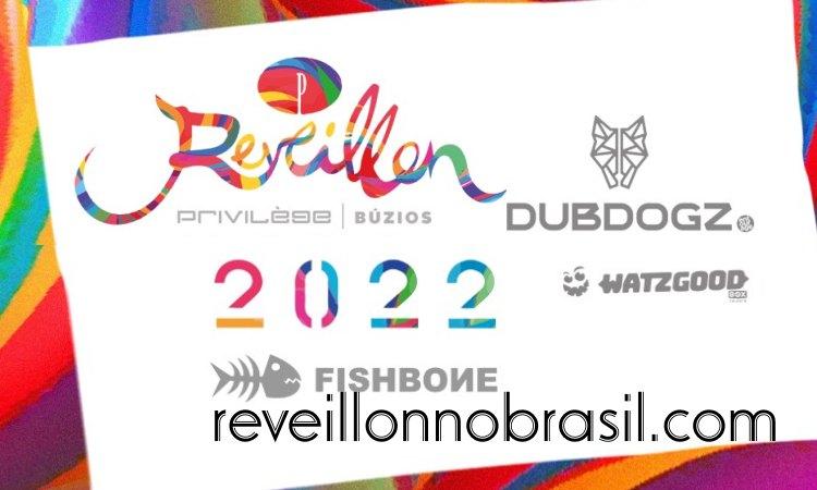 Réveillon Privilège no Fishbone na Praia de Geribá em Búzios - reveillonnobrasil.com