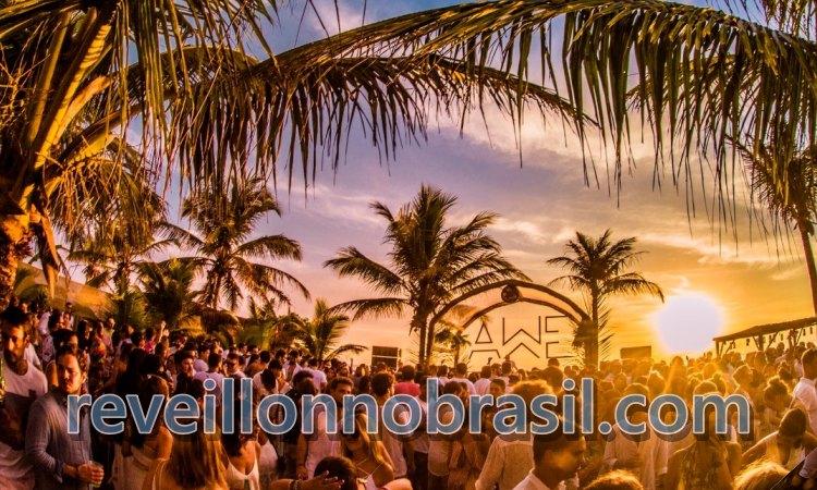 AWÊ Réveillon Caraíva em Porto Seguro na Bahia - reveillonnobrasil.com